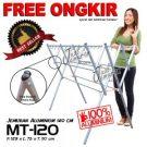 Jemuran Baju Aluminium 120 cm Hanger