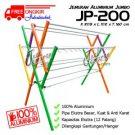 Jemuran Baju Aluminium Jumbo 200 cm Hanger