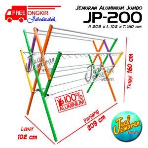 Jemuran Baju Aluminium Jumbo 200 cm