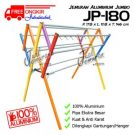 Jemuran Baju Jumbo Aluminium 180 cm Hanger