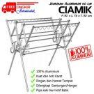 Jemuran Baju Aluminium 110 cm Hanger
